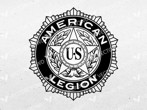 American Legion Logo Digital Vector | SVG Cut File