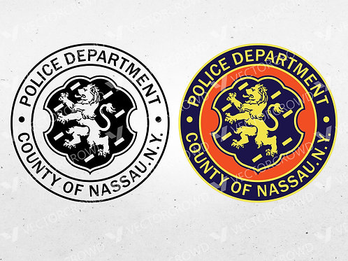 Nassau County New York Police Department Seal | Vector Images | VectorCrowd