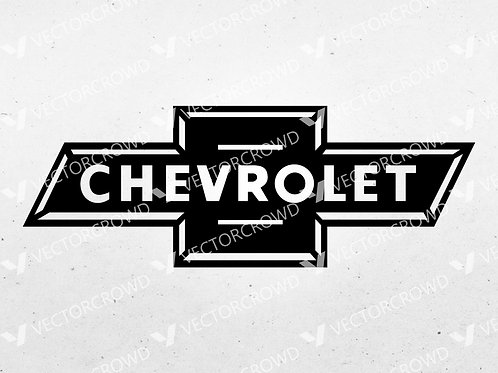 1930's Chevrolet Chevy Retro Logo    SVG Cut File