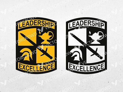 Army ROTC Crest Shield | SVG Cut File