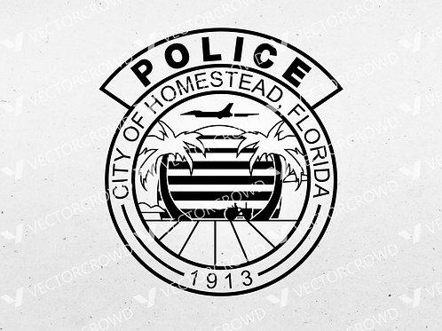 Homestead Florida Police Department Logo