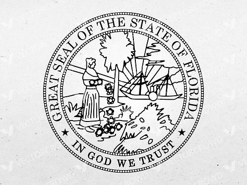 Florida State Seal | Vector Image