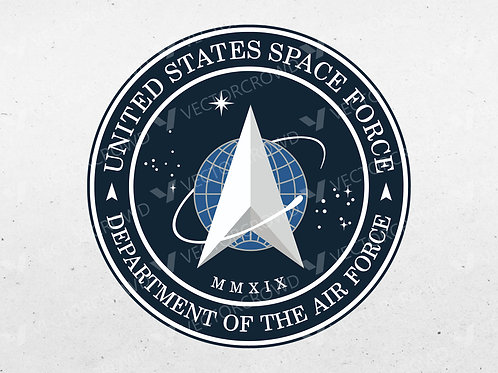 Space Force Seal Layered | Vector Images | VectorCrowd