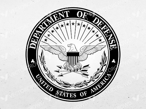 Department of Defense DOD Seal   VectorCrowd