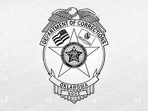 Oklahoma Department of Corrections Logo   Vector Image