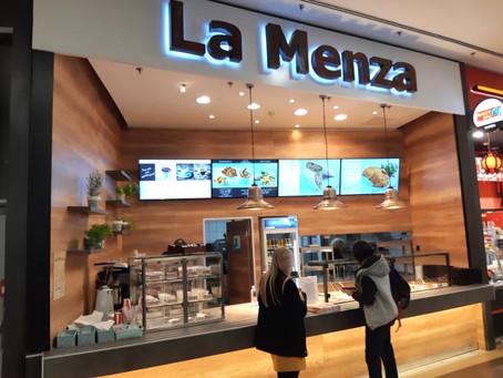 Digitális étlap a LaMenza étteremhálózatban