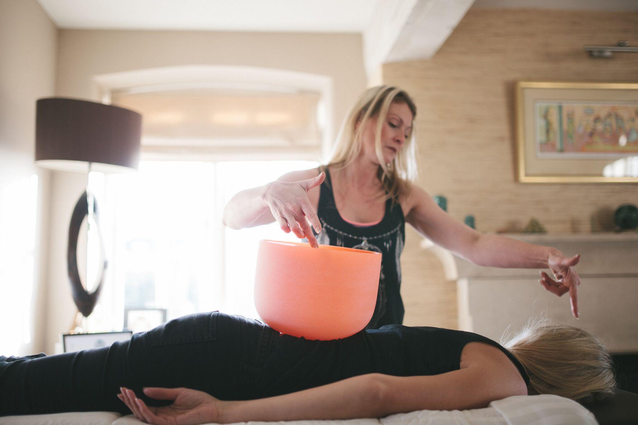 Vibrational Sound Massage