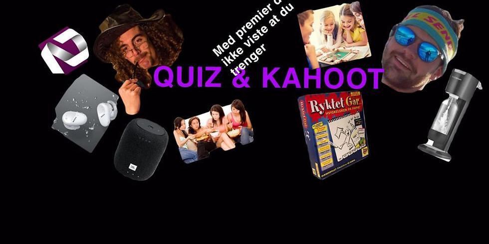 Kickoff ND-dagen QUIZ & KAHOOT