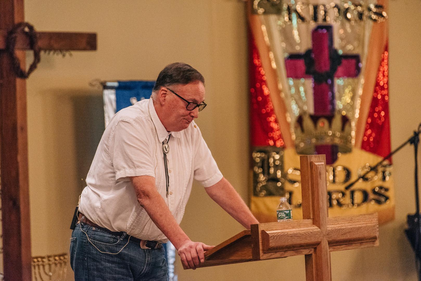 Pastor Steve Aldrich