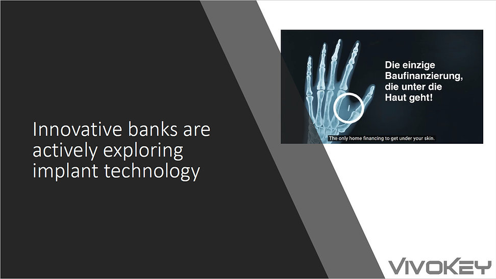 Innovative banks already exploring impla
