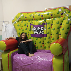 Birthday Party Couch