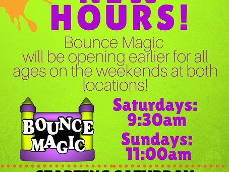 New Hours at Both Locations!