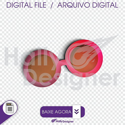 Arquivo Digital PNG - Festa Praia - Óculos