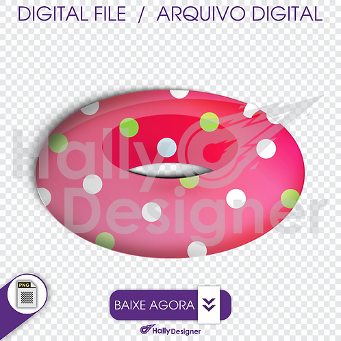 Arquivo Digital PNG - Festa Praia - Boia