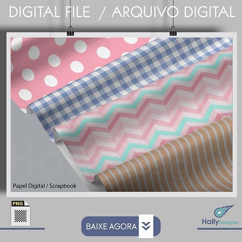 Papel Digital - vintage