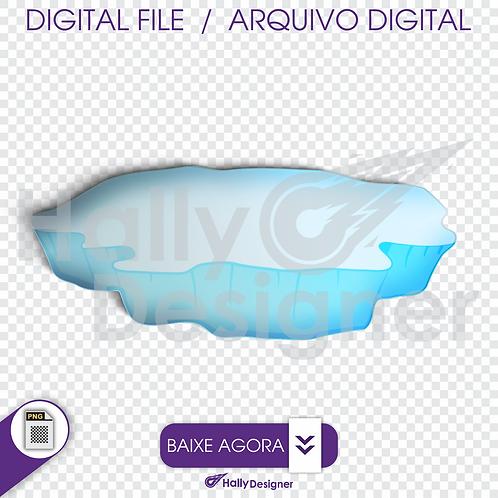 Arquivo Digital PNG - iceberg