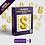 Thumbnail: Kit Digital PNG - Letras - Números e Sinais em Formato de Balões -Ouro