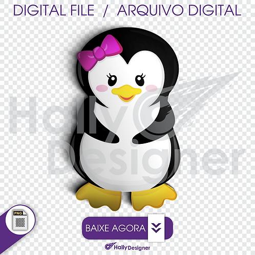 Arquivo Digital PNG - linda pinguim