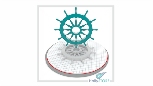 Leme 3D-  Arquivo Digital STL Para Impressora 3D