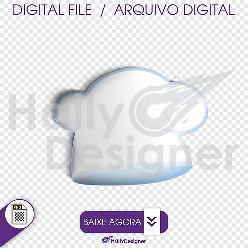 Arquivo Digital PNG - Festa Pizza - Toque Blanche ( chapéu )