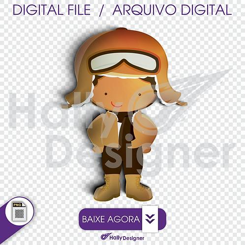 Arquivo Digital PNG - Festa Aviador - Aviador