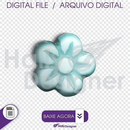 Arquivo Digital PNG - Festa Balão - Flor