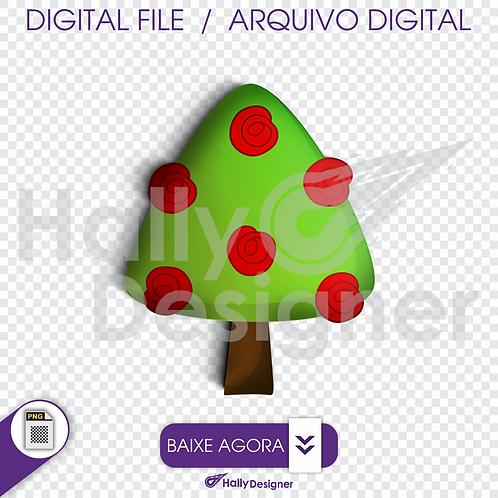 Arquivo Digital PNG - Festa Alice - Arvore