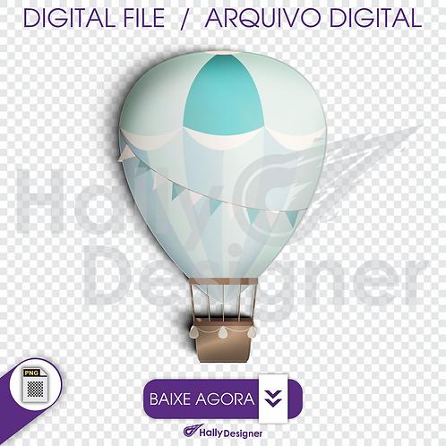 Arquivo Digital PNG - Festa Balão - Botão