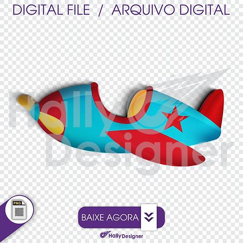 Arquivo Digital PNG - Festa Aviador - Avião