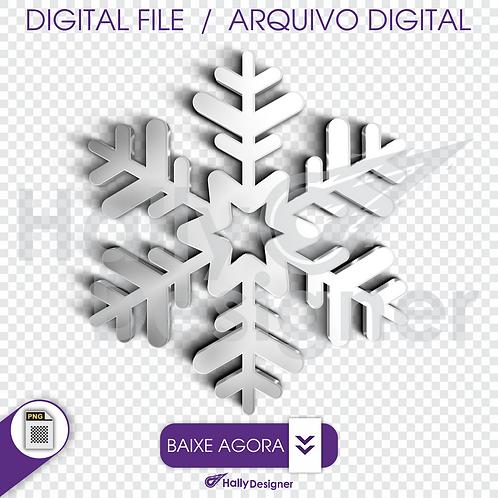 Arquivo Digital PNG - Cristal de gelo Azul