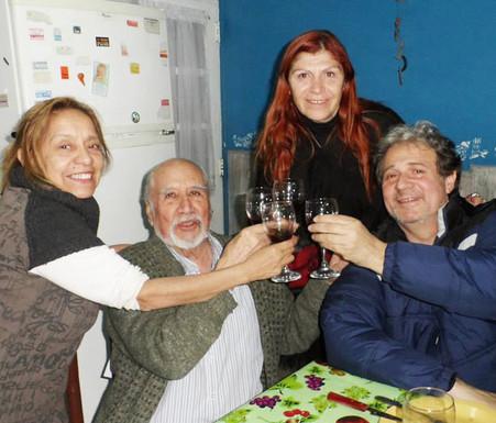 Melcy Ocampo, Magui Montero y Alfonso Nassif