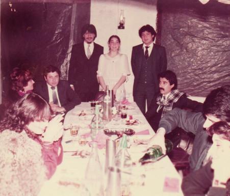 Casamiento de Jacinto Piedra e Irene 1983. Sgo. del Estero