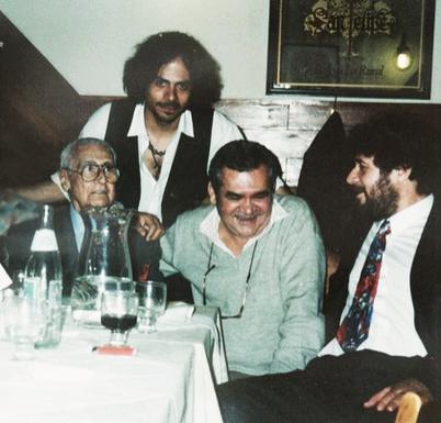 Raúl Trullenque, Mario Arnedo Gallo y Ariel Prat