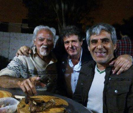Juan Saavedra y Peteco Carabajal