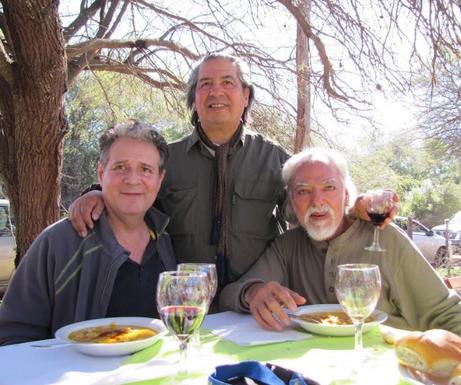 Mario Paz,  Juan Saavedra, Sgo. del Este
