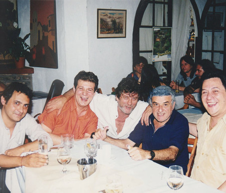Ariel Petrocelli, Litín Ovejero, Nacho Wisky, Ariel Carlino