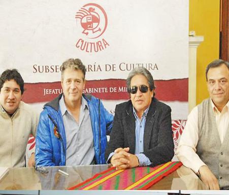 Marcelo Toledo, Alito Toledo y Miguel Simón 2014