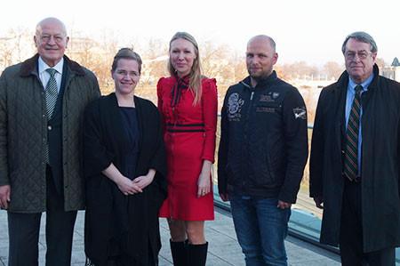 Neuer PMI-Vorstand (v.l.: Hans Gerst, Alexandra Oehlke, Irene Wiens, Jan Gebert, Dietrich von Albedyll)