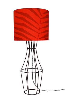 Figurina 'Aya' Red & Red Table Lamp
