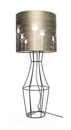 SILK FLORA TABLE LAMP