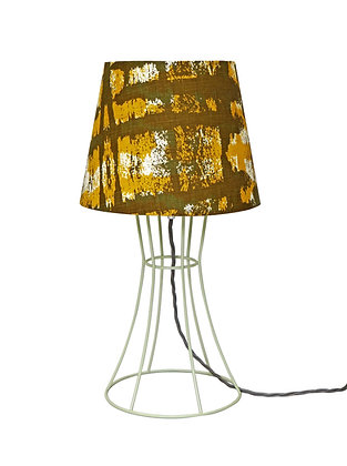 Bambino'Kete Pa' Yellow & Olive Green Table Lamp