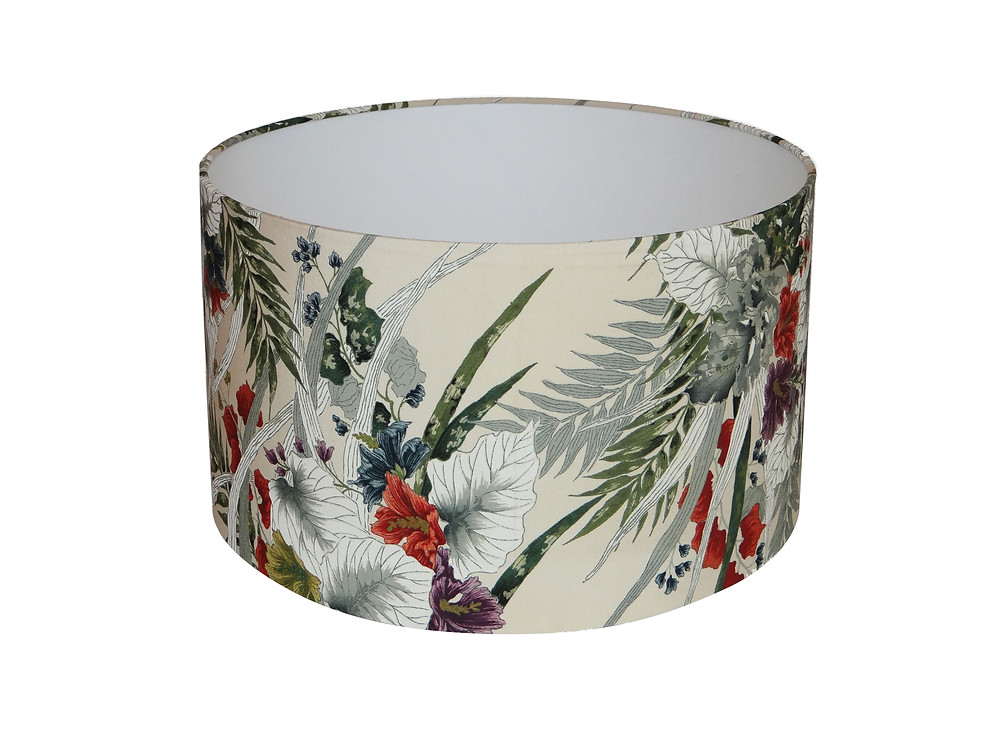 Unique Vintage Kimono Lampshade by The Bespoke Boutique