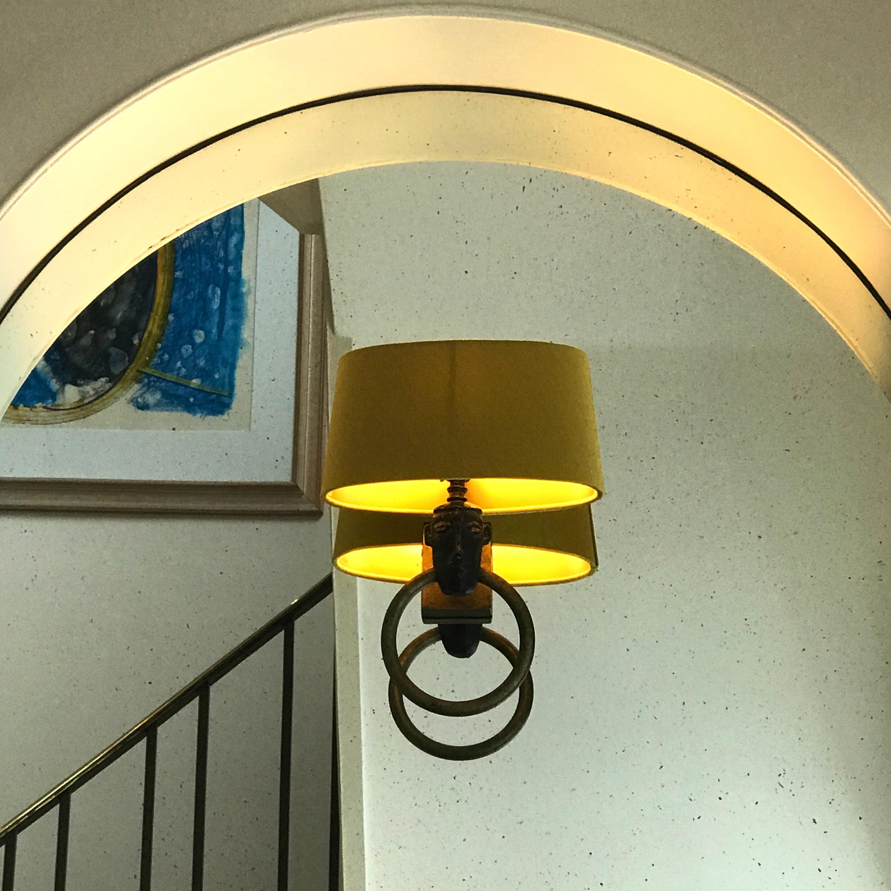 Bespoke Oval Lampshade