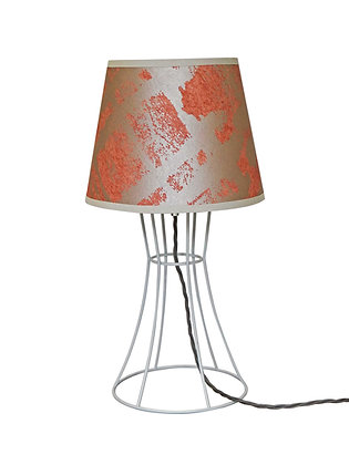 Bambino 'Kete Pa' Salmon & Pearl Table Lamp