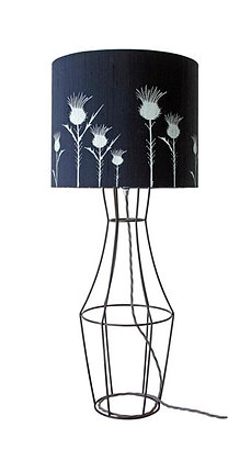SILK FLORA TABLE LAMP