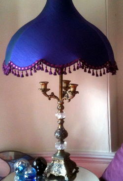 Traditional lampshades revamped