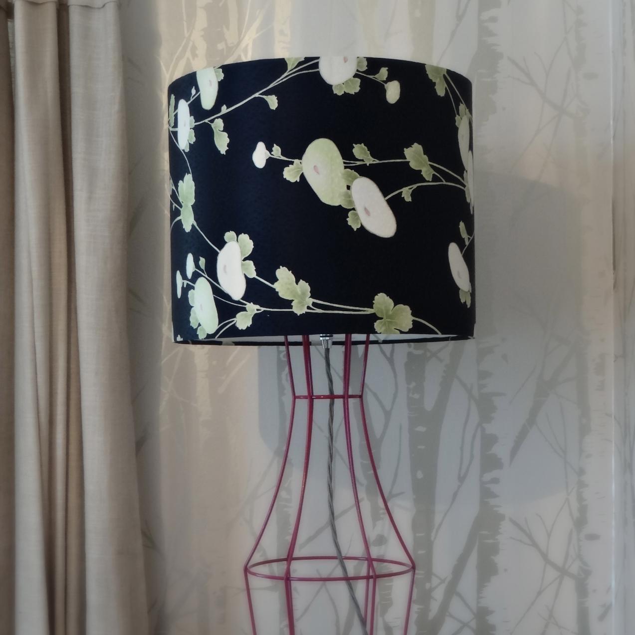 Vintage Kimono Lampshade