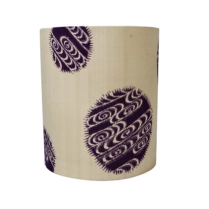 Abstract vintage lampshade