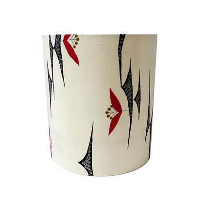 Graphic flower vintage lampshade