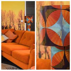 Kaleidoscope Lamp in the stunning interi